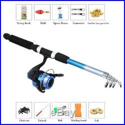 10X(Beginner Children'S Fishing Rod Set Lightweight And Portable Retractabl 1N4)