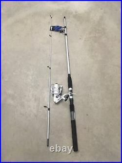 (3 Combo) Okuma Boundary 7 Spinning Rod Reel Sz40 Pier Catfish Half Dealer Case