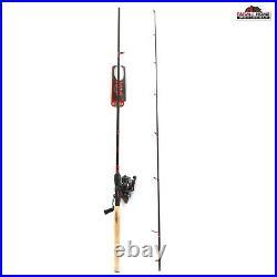 6'6 Eagle Claw Medium Heavy Spinning Rod & Reel Combo New