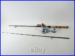6'6 Ugly Stik Elite 2 Pc. Spin Rod With Wright & McGill (SAB-30) Reel Combo