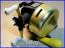 60's Vintage ABU 40 Fishing 1&2(5.5') & Abumatic 135 spin-cast rod/reel combo