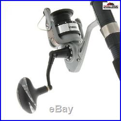 8' Aerial Spinning 2pc Fishing Rod & Reel Combo New