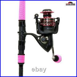 8' Penn Passion Medium Spinning Rod & Reel Fishing Combo NEW