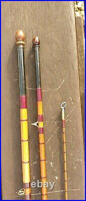 A Rare Vintage Hardy Allinone Fly Spin Combination Rod In Good Condition