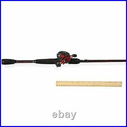 Abu Garcia Black Max Baitcast Combo Fishing Rod/Reel Length 6'6'