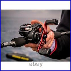 Abu Garcia Black Max Low Profile Baitcast Reel and Fishing Rod Combo Size 7'1pc