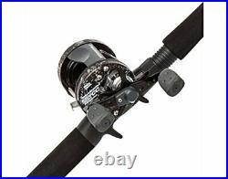 Abu Garcia Catfish Commando Fishing Rod and Reel Combo 7 Feet Medium Heavy Po