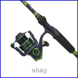 Abu Garcia Virtual Spinning Freshwater Combo 6'6 Medium Rod w /Size 30 Reel