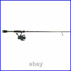Abu Garcia Virtual Spinning Reel and Fishing Rod Combo Green 30 Reel Size 7