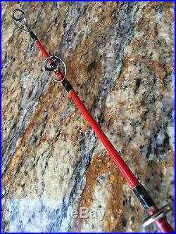 All CNC Reel & 300gr. Spinning jigging rod PE 3-6 30-60lb. Leaders 5'3 (Combo)