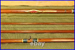 Bamboo Horrocks-Ibbotson Combination Fly & Spinning Rod, Excellent Condition
