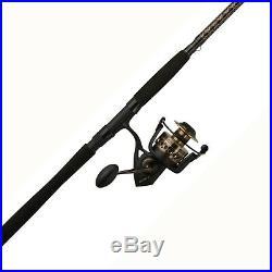 Battle II 7 ft Spinning Reel & Fishing Rod Combo Right Left Saltwater Freshwater