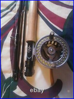 Cabela's RLS+ 905-4 9'' 5wt Fly Fishing Reel Rod. With case