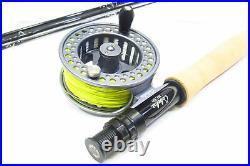 Cabela's RLS+ 906-4 9'' 6wt Fly Fishing Reel Rod Fly Lures