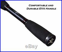 Cadence BC5 Baitcasting Combo, Lightweight 24 Ton Graphite Baitcaster Rod and Re