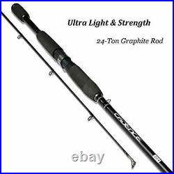 Cadence CC4 Spinning Combo Lightweight with 24-Ton 2-Piece Graphite Rod Strong C