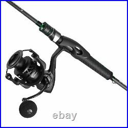 Carbon X Spinning Reel and Serpent Spinning Rod Combo