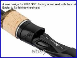 Casting Spinning Fishing Rod Reel Combo Lure Bass Travel Baitcasting Carp Ocean