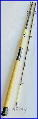 Catfish Spinning Combo Rod 9' 2pc Cork Handle Glow Tip 9BB Bait Runner