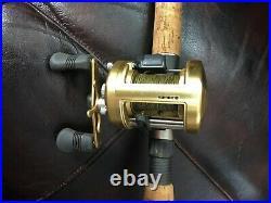 Combo Shimano Compre Casing Rod Cpc-m76xh And Shimano Calcuta 400b Reel
