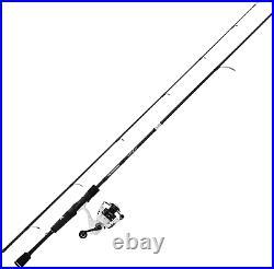 Crixus Fishing Rod and Reel Combo A Spin-6'0 Medium Light-2Pcs 2000 Reel