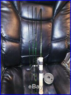 Custom Built Rainshadow Fly/Spinning Combo Rod 7'6 4wt