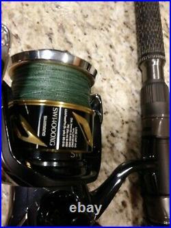 Custom Made Barrett Travel Rods And Shimano Sw Stella Reels
