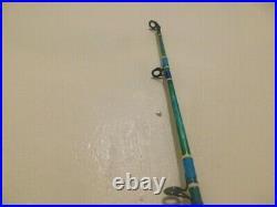 Custom Spin Combo Mahi Blue Marble 15-40 Lb Rod 7' Fuji & Penn Spinfisher V7500