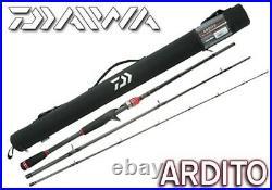 Daiwa 3 Piece Travel Rod & Case Spinning or Casting Choose Model