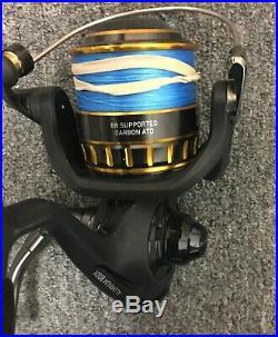 Daiwa BG4500/902MH BG Saltwater Spinning Combo