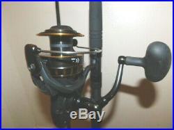 Daiwa Black/gold Bg5000 Plus A Bg902mh-1530 Rod Combo 9ft Mh