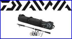 Daiwa D-Travel Telescopic 7'2 Med. EVA Spinning Rod Combo with Bag DTC25Bi72TMFSE