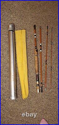 Eagle Claw Trailmaster No. M4TMU 7 1/2 Spin/Fly Combo Pack Rod With Bag & Tube