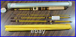 Eagle Claw Trailmaster TR249 7ft 6 Spin Fly Combination Fishing Rod USA Rare