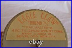 Eagle Claw Trailmaster TRRR249 7ft 6 Spin Fly Combination Fishing Rod USA Rare