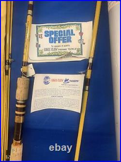 Eagle Claw Trailmaster vintage fishing rod 7-1/2 ft spin/fly combination