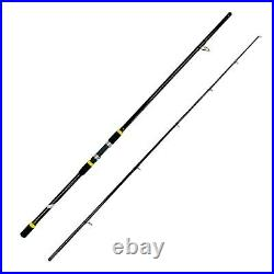 EatMyTackle Surf Fisher Long Cast Black Magic Rod and Reel Combo