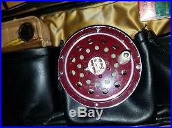 Excellent Vintage 6 Piece Martin Combo Fly Spin Rod & Reel Set & Leather Case