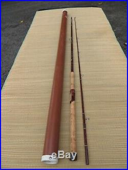 FENWICK RARE SF110 9' 5 1/2 OZ SPIN/FLY GLASS ROD COMBO WithTUBE-XCLNT CONDITION