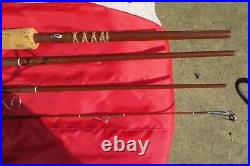 FENWICK SF74-4 7'SPIN/FLY COMBO ROD-MOST XCLNT COND ORIG NICE TUBE WithSOCK-ORIG