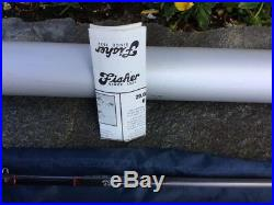 FISHER FOUR Piece FIVE/SIX Weight 9'0 Graphite Fly Rod or 69 Spinning Combo