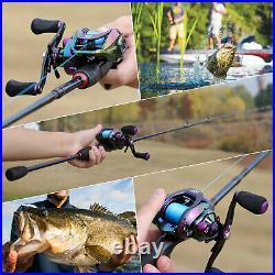 FULL COMBO Casting Fishing Set ROD + REEL & CASTING Accessories