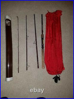 Fenwick SF-74 -4 Piece 7Ft. Combination spinning / fly rod
