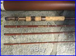 Fenwick VOYAGEUR SF74-4 70 FOUR SECTION Fly/Spin COMBO Rod-VERY GOOD SHAPE