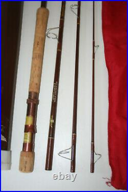 Fenwick Voyageur SF74-4 Combination Fly & Spinning Rod 4 Pc with Case & Tube