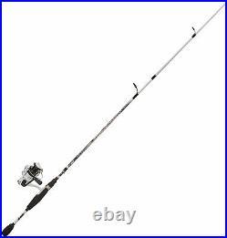 Fishing Pole Kit Rod Reel Combo Spinning Bass Walleye Crappie Beginner Boat Lake