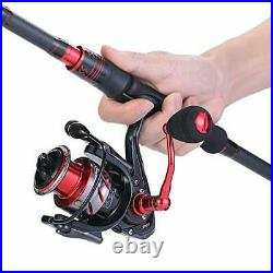 Fishing Rod and Reel Combos, Ultra Light 36 Ton Carbon Fiber Telescopic Spinning