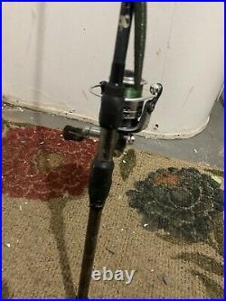 Fishing pole and reel combo