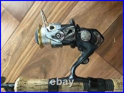 G Loomis Spinning Rod SR6010-2 GL3 with Shimano Sedona 1000FE Reel