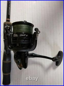 Halo HFXDIII70MHS Fishing Rod with Abu Garcia REVO2X40 Spinning Reel